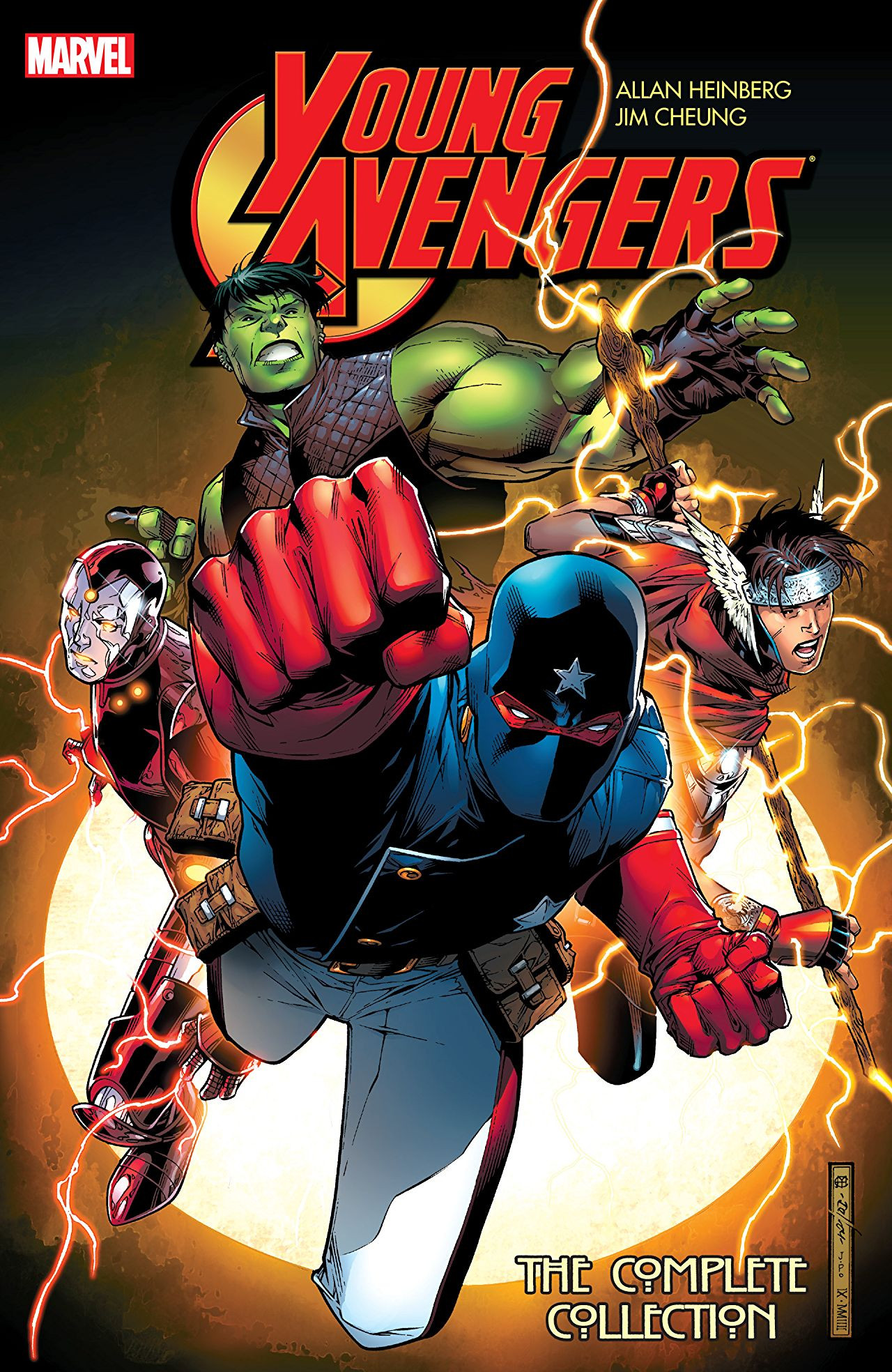 Young Avengers by Allen Heinberg and Jim Cheung: The Complete Collection Vol 1 1