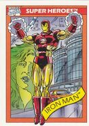 Anthony Stark (Earth-616) from Marvel Universe Cards Series I 0001