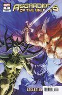 Asgardians of the Galaxy Vol 1 8 Asgardian Variant