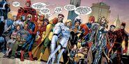 Avengers (Earth-616), New Avengers (Earth-616), Secret Avengers (Black Ops Unit) (Earth-616), Fantastic Four (Earth-616) and Maria Hill (Earth-616) from Avengers Assemble Vol 2 6 001
