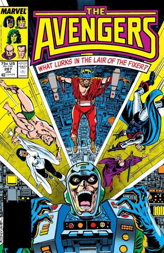 Avengers Vol 1 287