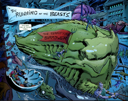Burrower (Atlantean Beast) from Namor The First Mutant Vol 1 9.png