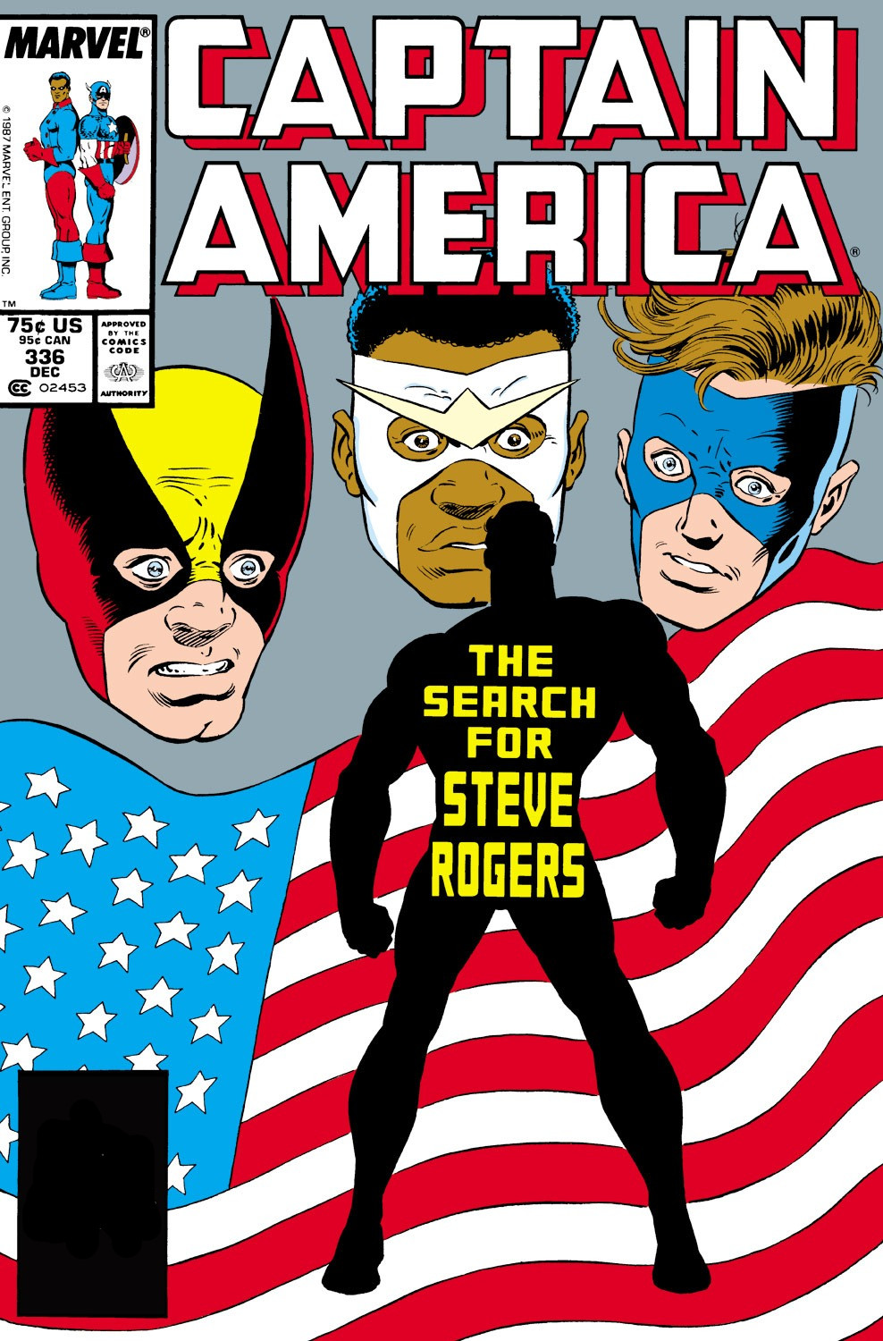 Captain America Vol 1 336