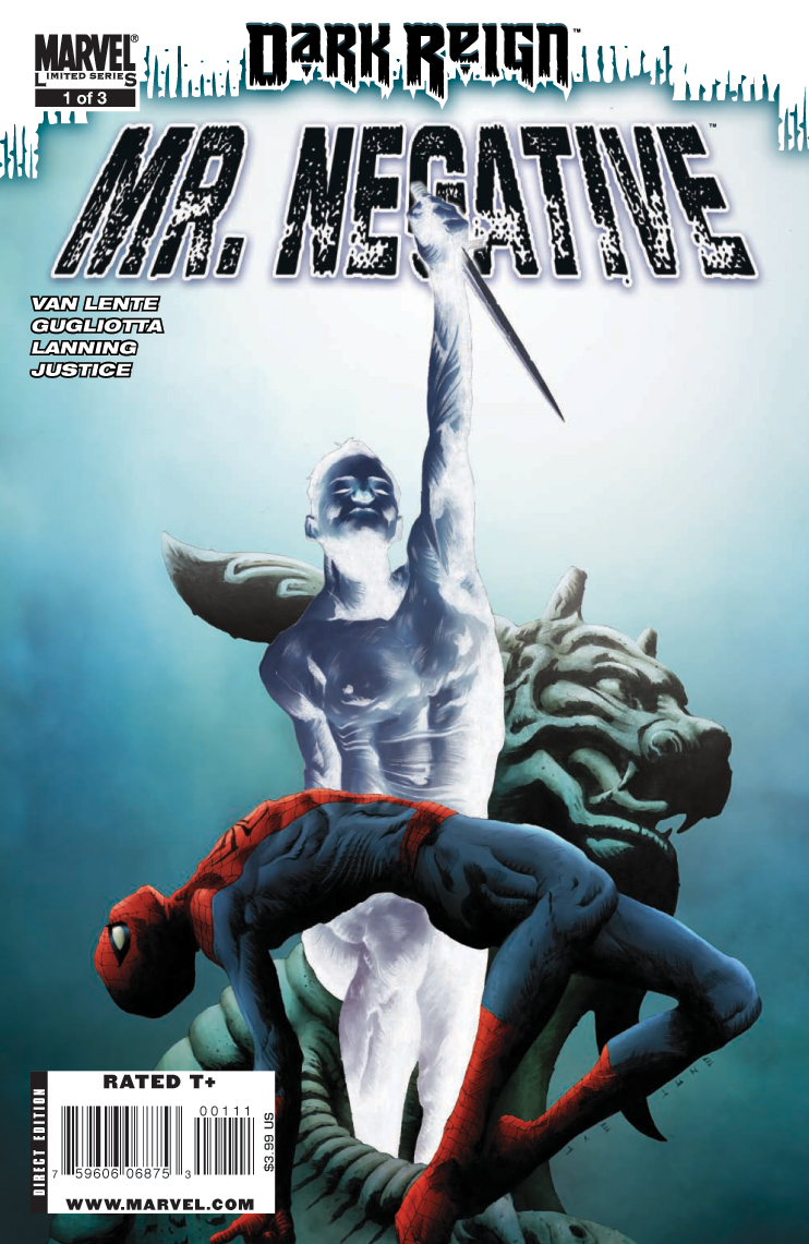 Dark Reign: Mister Negative Vol 1 1