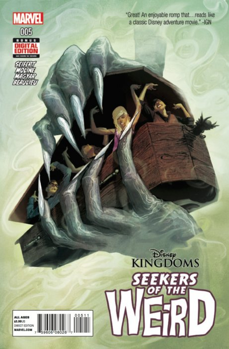 Disney Kingdoms: Seekers of the Weird Vol 1 5