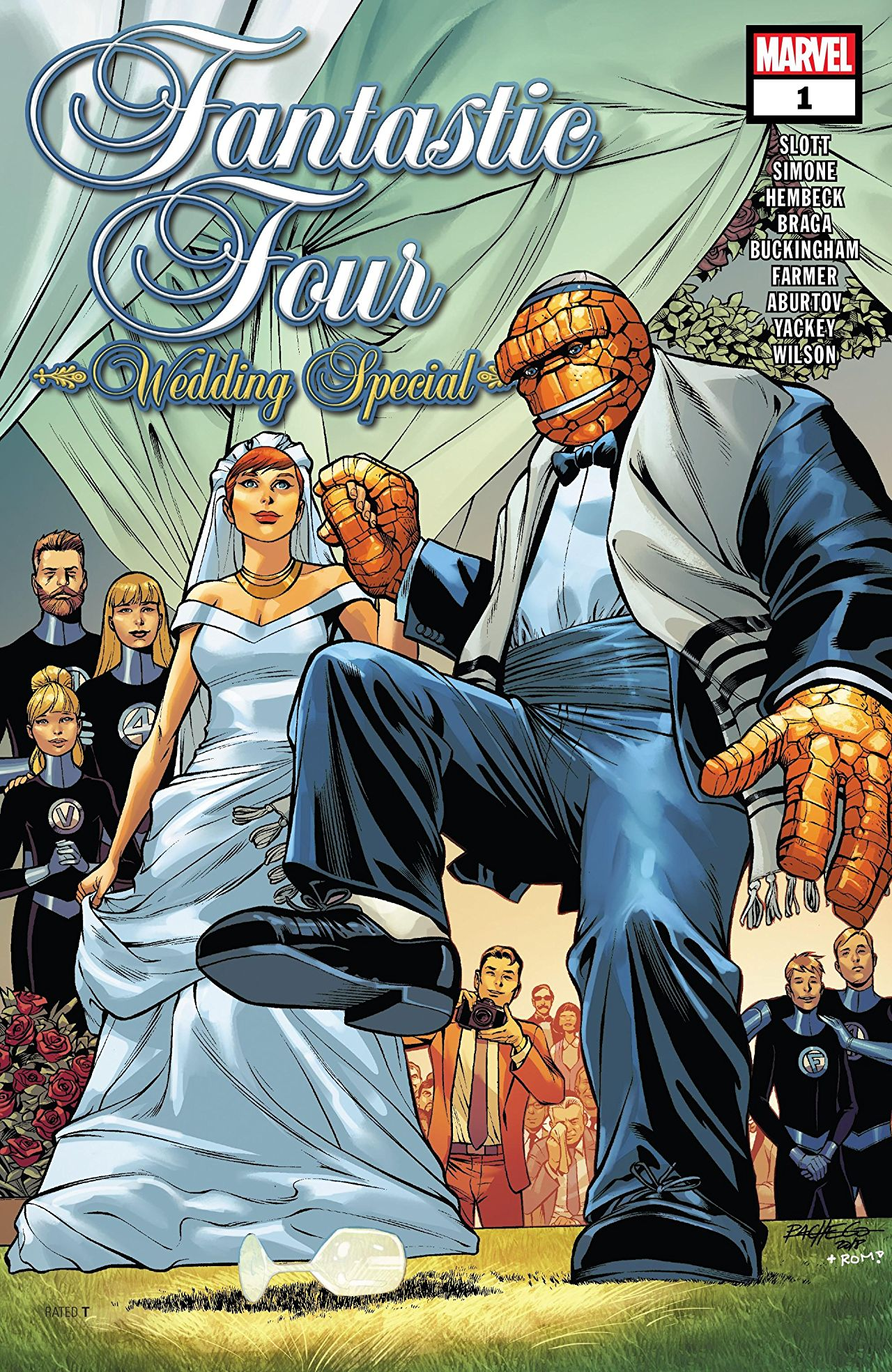 Fantastic Four: Wedding Special Vol 1 1