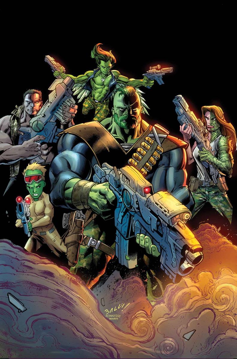 Gamma Corps (Earth-616)