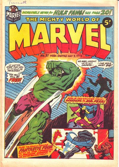 Mighty World of Marvel Vol 1 31