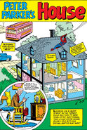 Peter Parker's House Pin-Up from Amazing Spider-Man Annual Vol 1 1