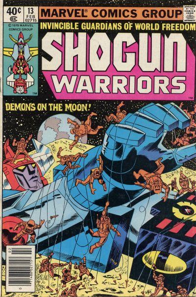Shogun Warriors Vol 1 13