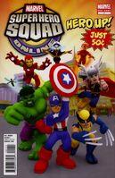 Super Hero Squad Online Game Hero Up! Vol 1 1