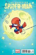 Superior Spider-Man Vol 1 1 Baby Variant