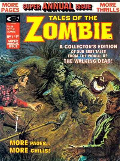 Tales of the Zombie Annual Vol 1
