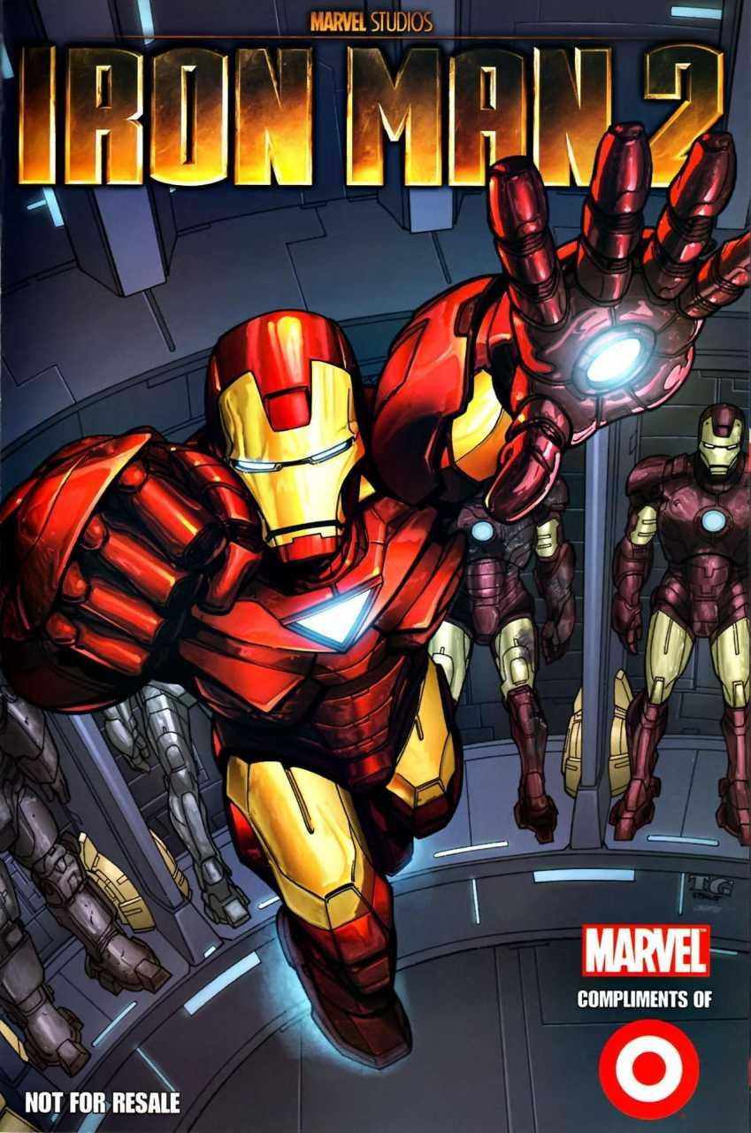 Target Iron Man 2 Custom Comic Vol 1 1