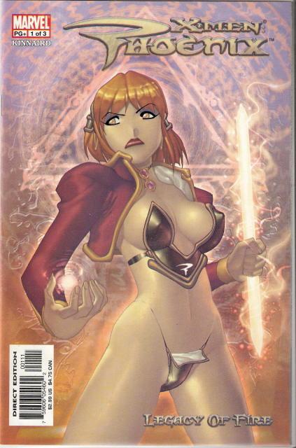 X-Men: Phoenix Legacy of Fire Vol 1 1