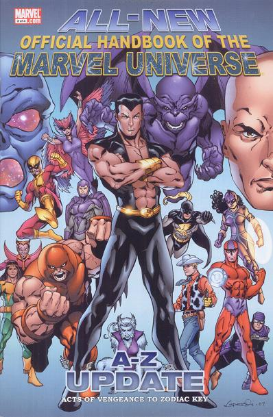 All-New Official Handbook of the Marvel Universe A to Z: Update Vol 1 3