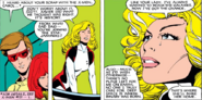 Carol Danvers (Earth-616), Scott Summers (Earth-616) and Madelyne Pryor (Earth-616) from Uncanny X-Men Vol 1 174 001