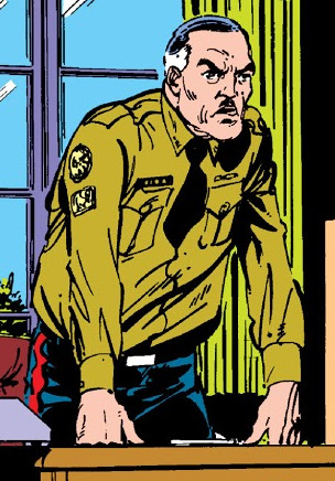 Chief Inspector Hamilton (Earth-616)