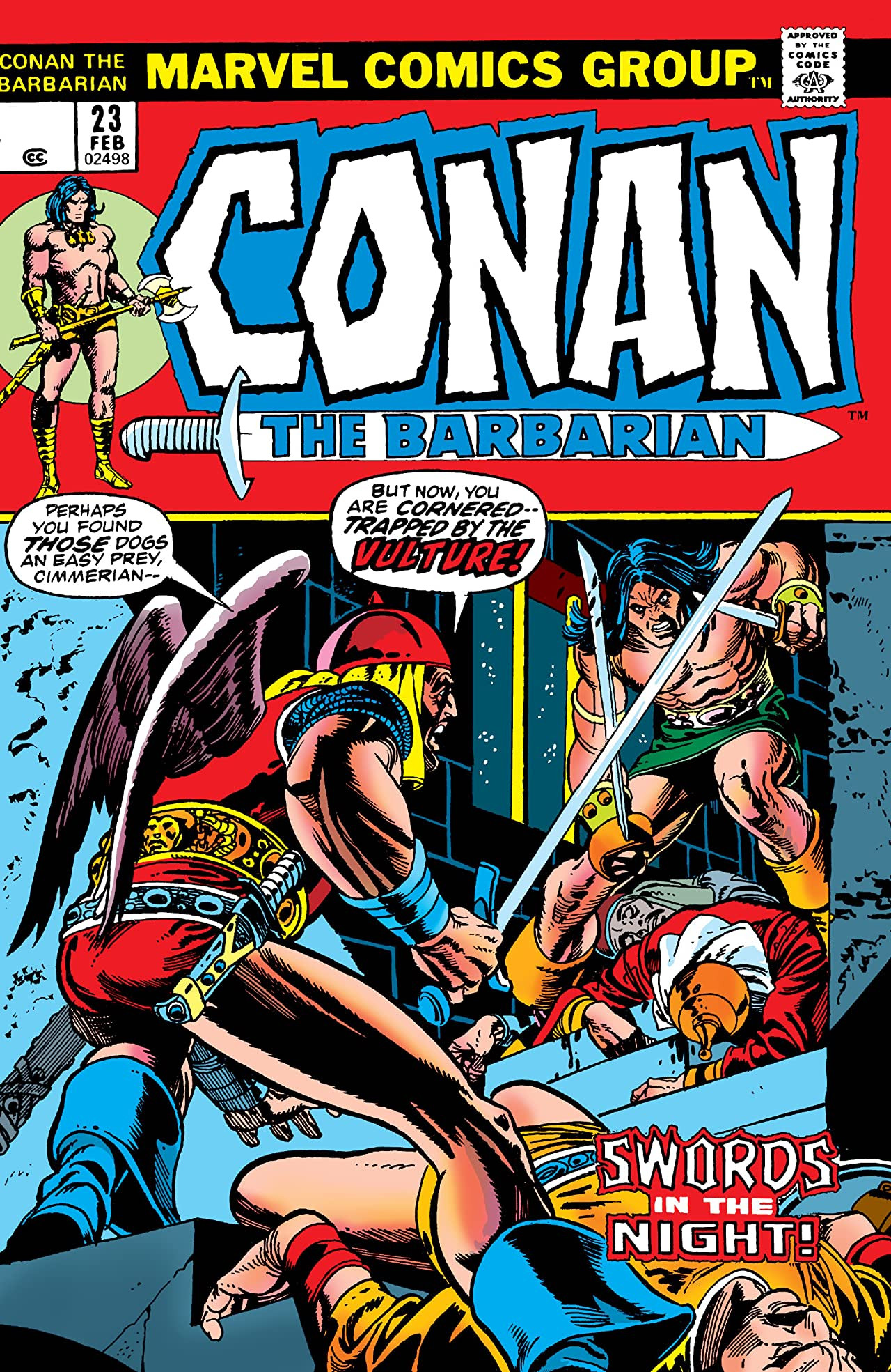 Conan the Barbarian Vol 1 23