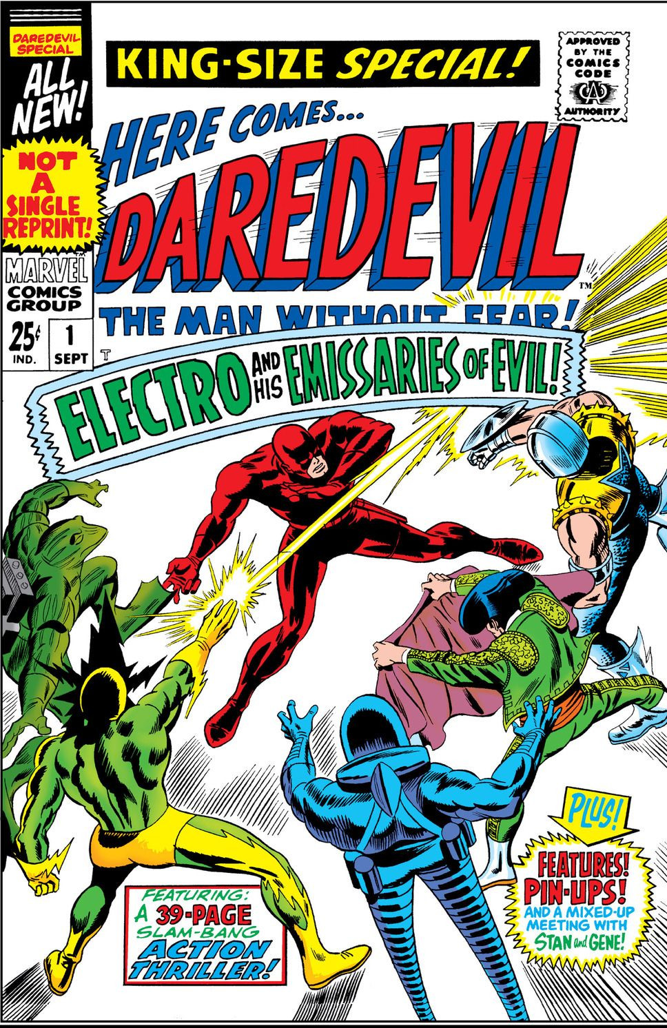 Emissaries of Evil (Electro) (Earth-616)/Gallery