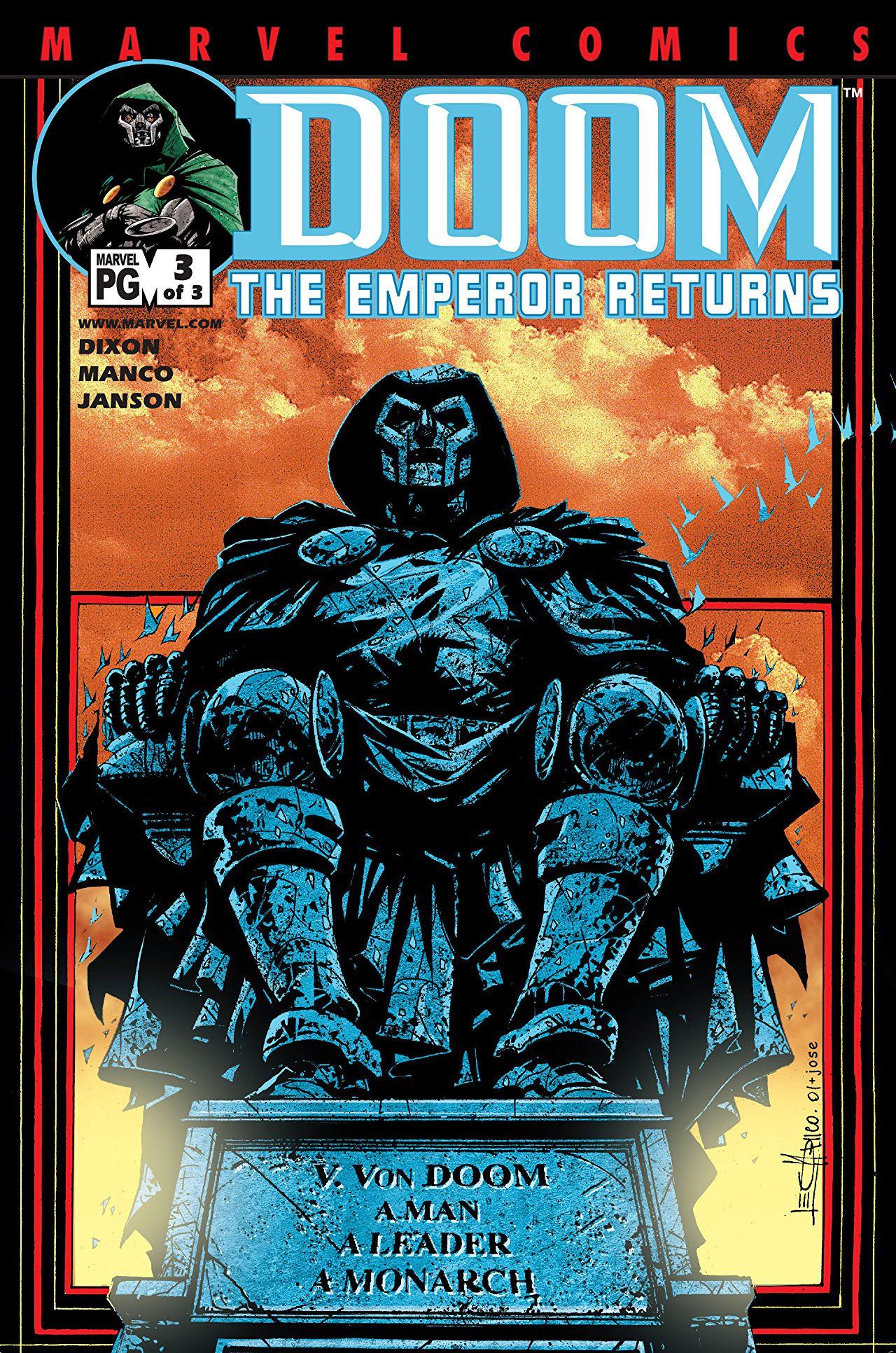 Doom: The Emperor Returns Vol 1 3
