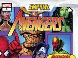 Empyre: Avengers Vol 1 1