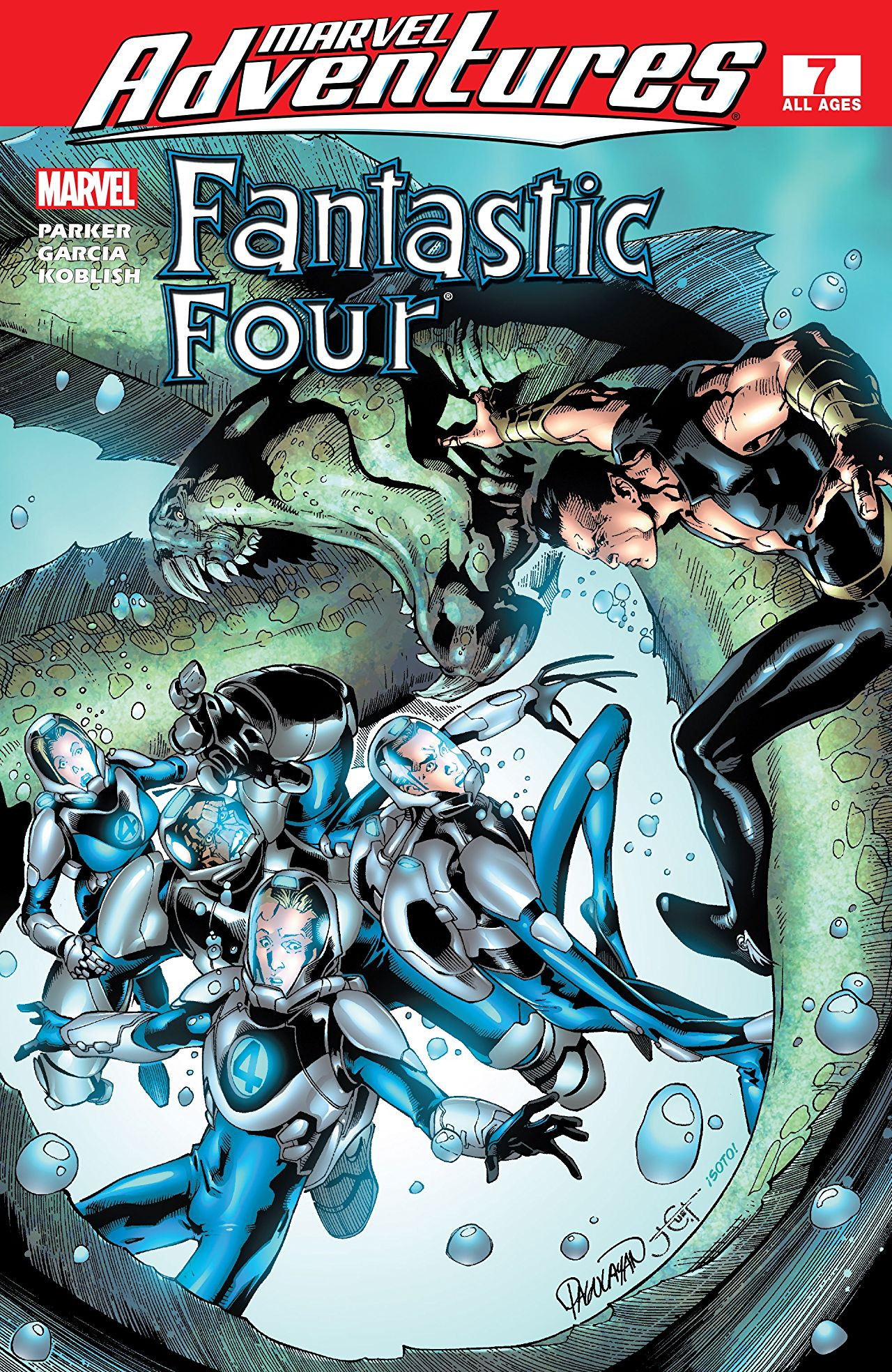 Marvel Adventures: Fantastic Four Vol 1 7