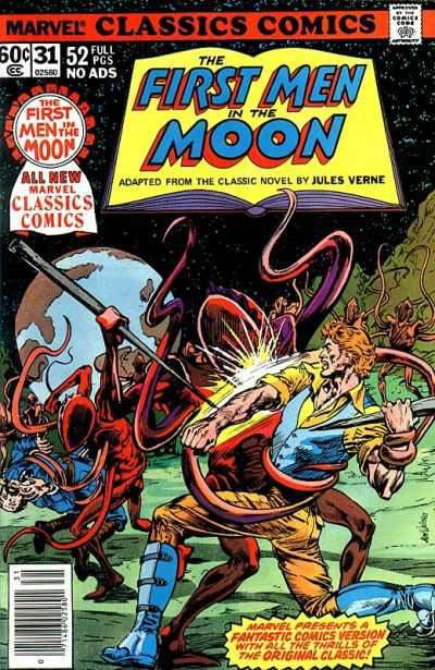 Marvel Classics Comics Series Featuring The First Men in the Moon Vol 1