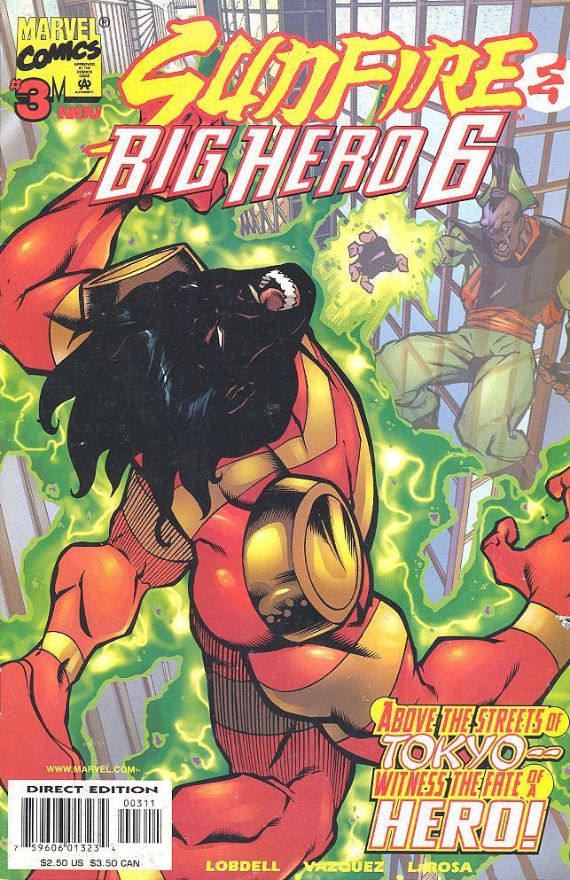 Sunfire and Big Hero Six Vol 1 3