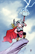 Thor Vol 4 1 Baby Variant Textless