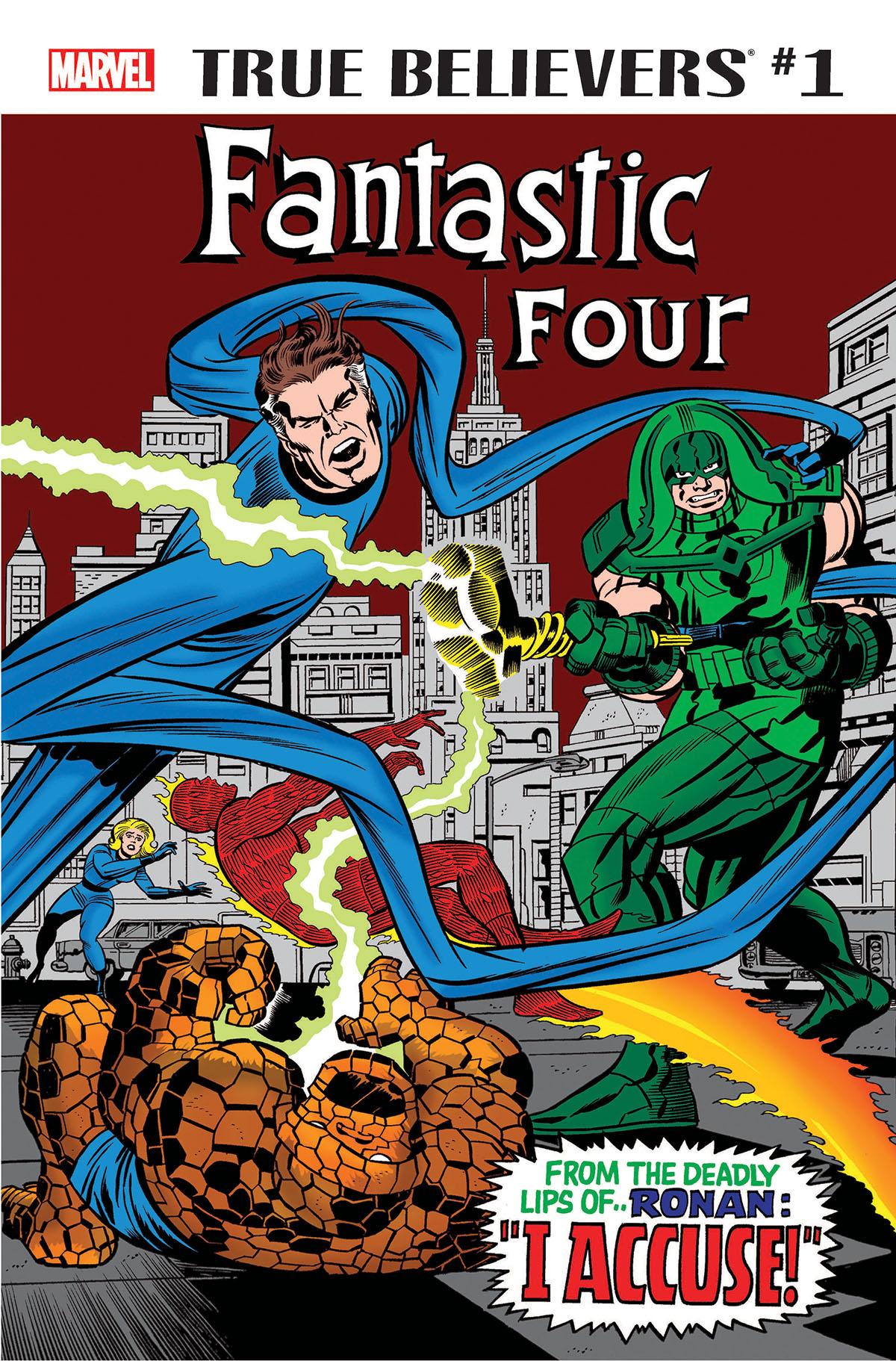 True Believers: Fantastic Four - Ronan & the Kree Vol 1 1