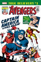 True Believers Kirby 100th - Avengers Captain America Lives Again! Vol 1 1