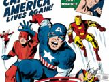 True Believers: Kirby 100th - Avengers: Captain America Lives Again! Vol 1 1