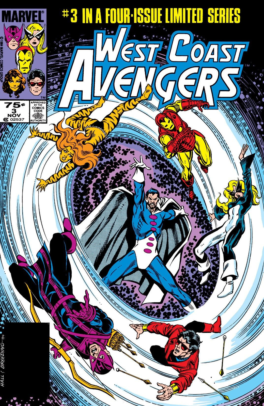West Coast Avengers Vol 1 3