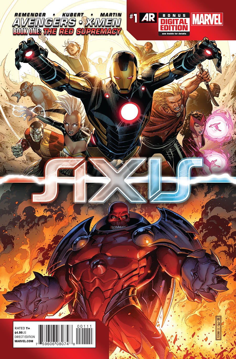 Avengers & X-Men: AXIS Vol 1 1