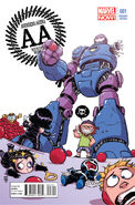 Avengers Arena Vol 1 1 Baby Variant