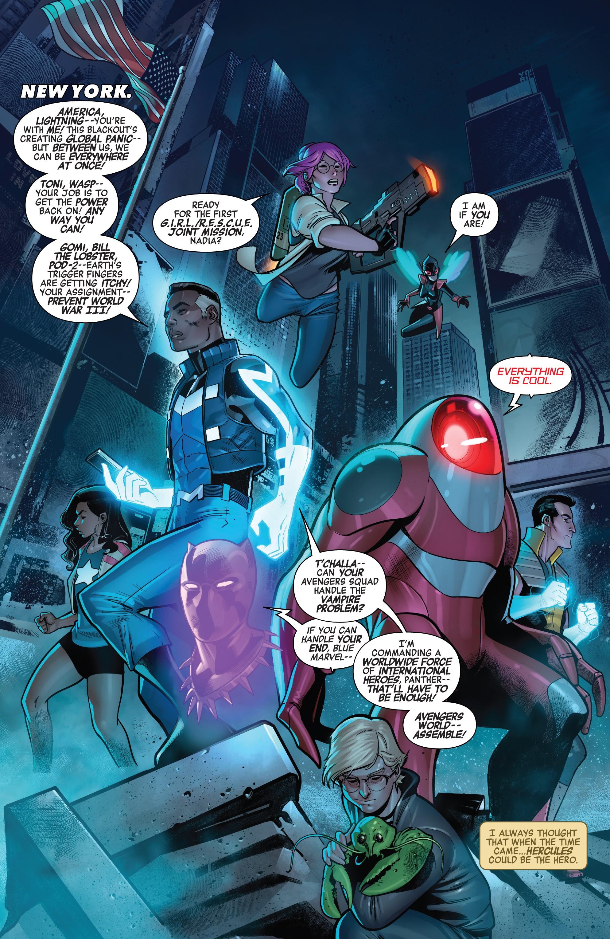 Avengers World (Earth-616)