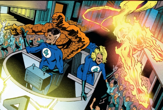 Fantastic Four (Earth-53101)/Gallery