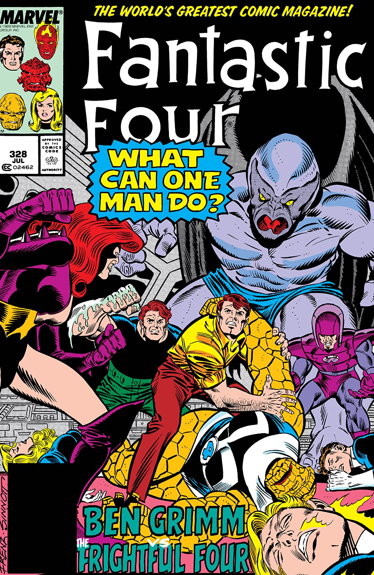Fantastic Four Vol 1 328