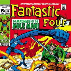 Fantastic Four Vol 1 89