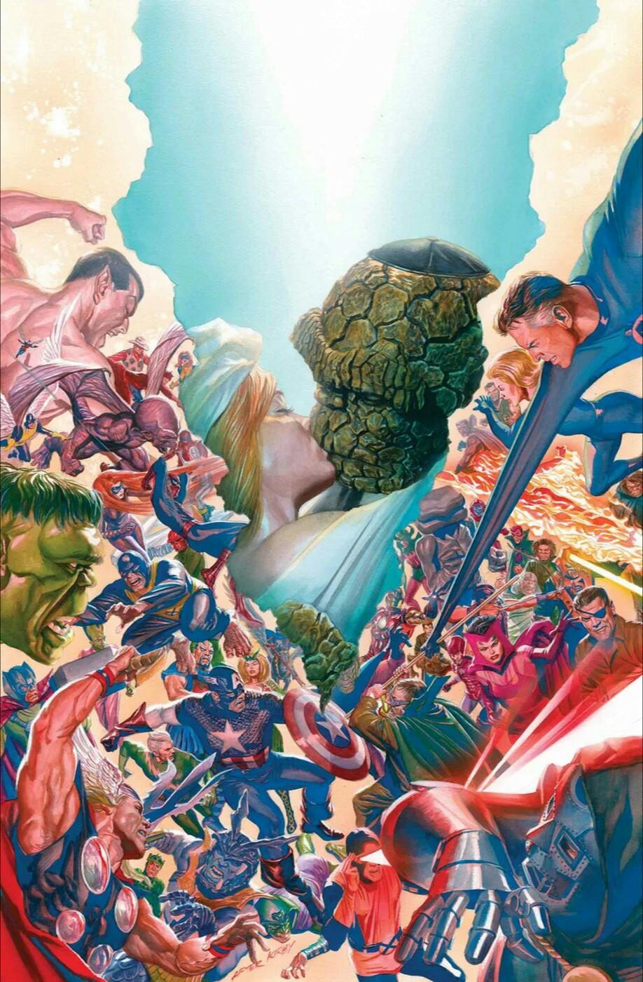 Fantastic Four Vol 6 5 Ross Variant Textless.jpg
