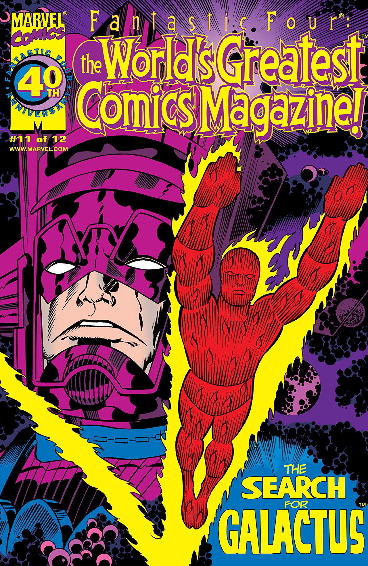 Fantastic Four: World's Greatest Comics Magazine Vol 1 11