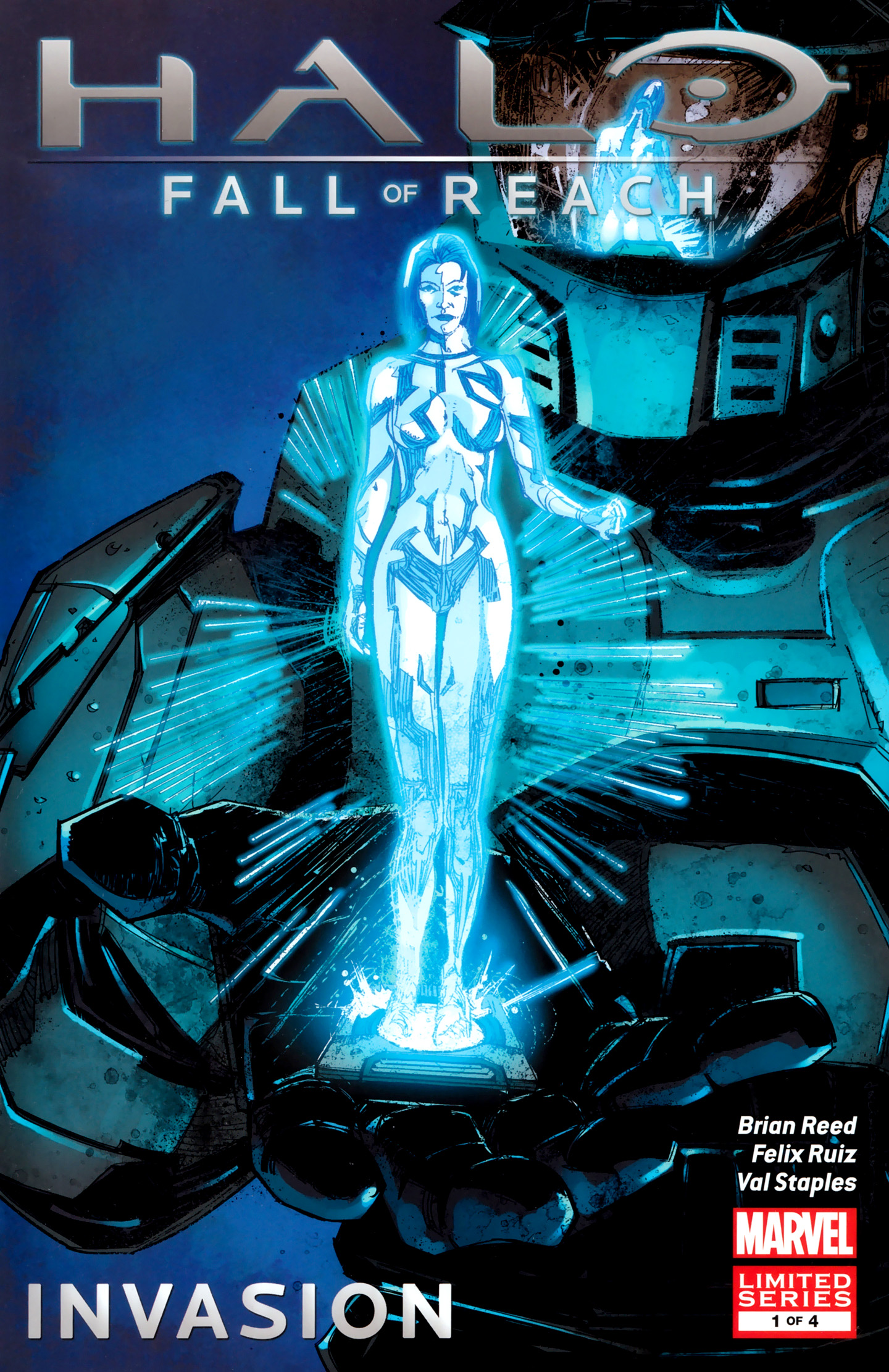 Halo: Fall of Reach - Invasion Vol 1 1