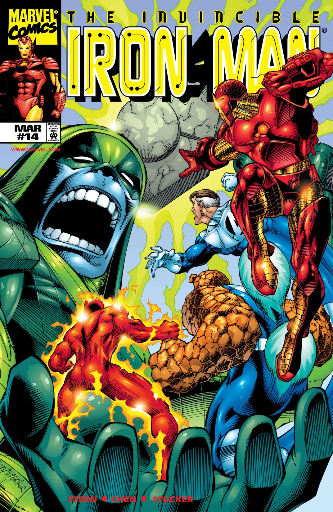 Iron Man Vol 3 14