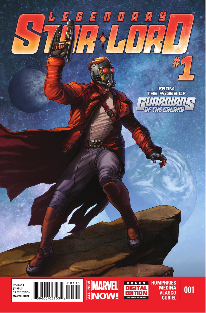 Legendary Star-Lord Vol 1 1