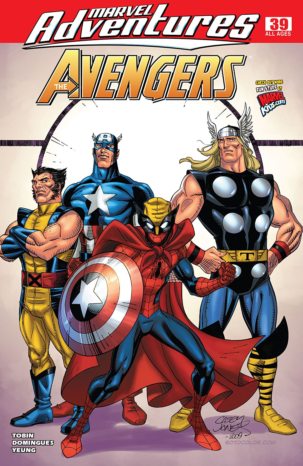 Marvel Adventures: The Avengers Vol 1 39