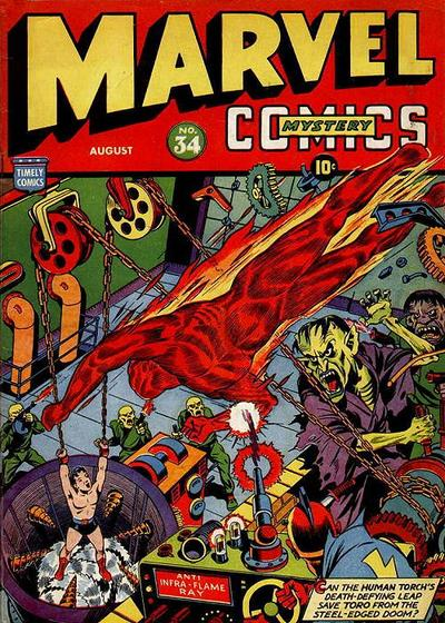 Marvel Mystery Comics Vol 1 34