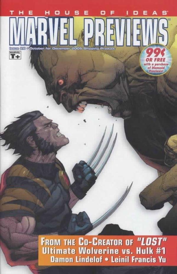 Marvel Previews Vol 1 26