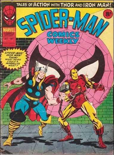 Spider-Man Comics Weekly Vol 1 141