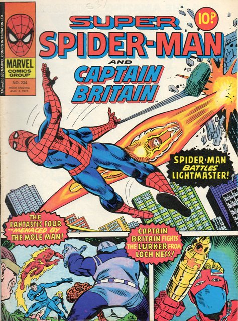 Super Spider-Man & Captain Britain Vol 1 234